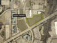 The WaterWalk apartment hotel complex will be on Greenville Avenue.City of Richardson