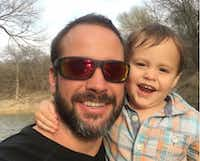 """<p>""""Matt's final hours were spent doing what he loved, playing and fishing with Oliver,"""" the family ofMatthew Meinert, 38, said after his body was found Friday. His 2-year-old son was discovered wandering the woods Tuesday near Grapevine Lake.</p>"""
