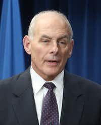 DHS Secretary John F. Kelly addressed a crowd earlier this week in Washington, D.C. (Mark Wilson/Getty Images)