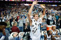 Dallas Mavericks forward Dirk Nowitzki at the American Airlines Center in Dallas, Tuesday, March 7, 2017. (Tom Fox/The Dallas Morning News )