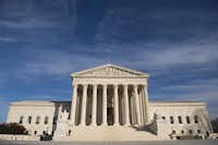 A file photo taken on January 31, 2017 shows the US Supreme Court  in Washington, DC.  (Saul Loeb / AFP)