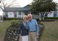 Kay Moore and her husband, Louis, have lived in their 1913 Craftsman home for 17 years.  The couple's research and preservation efforts have led to the two-block street of Craftsman-style houses in Garland being added to the National Register of Historic Places.((Rex C. Curry/Special Contributor))