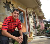 Estanislao Hernandez Argueta fled the gangs of El Salvador for refuge in the United States. He's applied for asylum and was regularly checking in with federal immigration authorities. (Louis DeLuca/The Dallas Morning News)