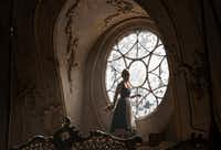 "This image released by Disney shows Emma Watson as Belle in a live-action adaptation of the animated classic ""Beauty and the Beast."" (Laurie Sparham/Disney via AP)(AP)"