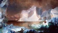 "<p><span style=""font-size: 1em; background-color: transparent;"">The mast in the foreground of  </span><span style=""font-size: 1em; background-color: transparent;"">Frederic Edwin Church's </span><i style=""font-size: 1em; background-color: transparent;"">The Icebergs</i><span style=""font-size: 1em; background-color: transparent;"">, one of the Dallas Museum of Art's signature paintings,</span><span style=""font-size: 1em; background-color: transparent;"">may refer to the Franklin  expedition. The</span><span style=""font-size: 1em; background-color: transparent;""> link  will be discussed when author Paul Watson visits on March 21.</span></p><br>((Dallas Museum of Art) )"