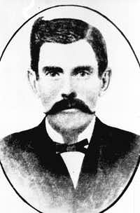 """ Doc"" Holliday in 1881(File/The Associated Press)"