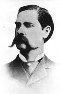 Wyatt Earp in 1881((File/The Associated Press))