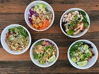 Here are five vegan bowls to make for the week.((Ellise Pierce))