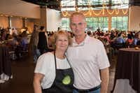 Sharon and Jerry Van Meter, owners of 3015 in Trinity Groves.