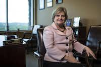 <p>Travis County Sheriff Sally Hernandez</p>