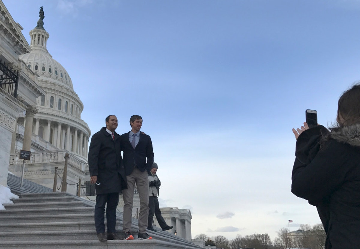 Bipartisan bromance secured, Texas congressmen complete road trip to Washington