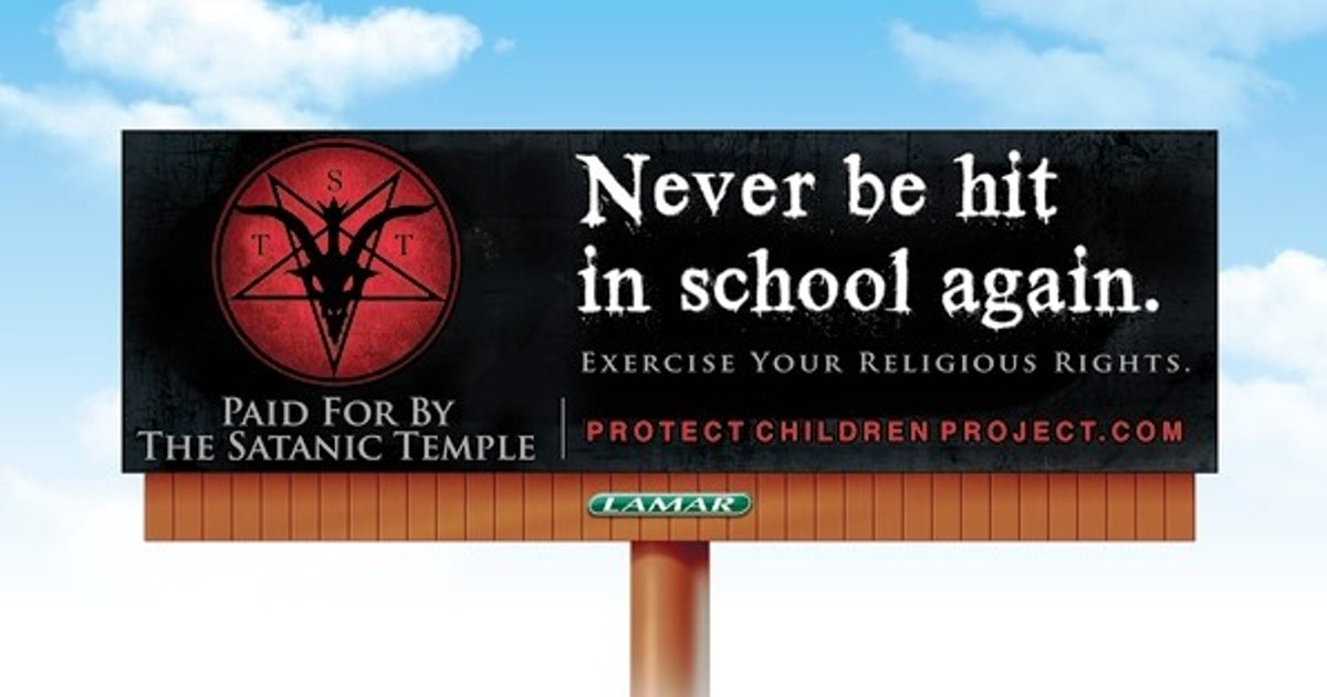 The Satanic Temple Invites Texas Students To Fight Corporal