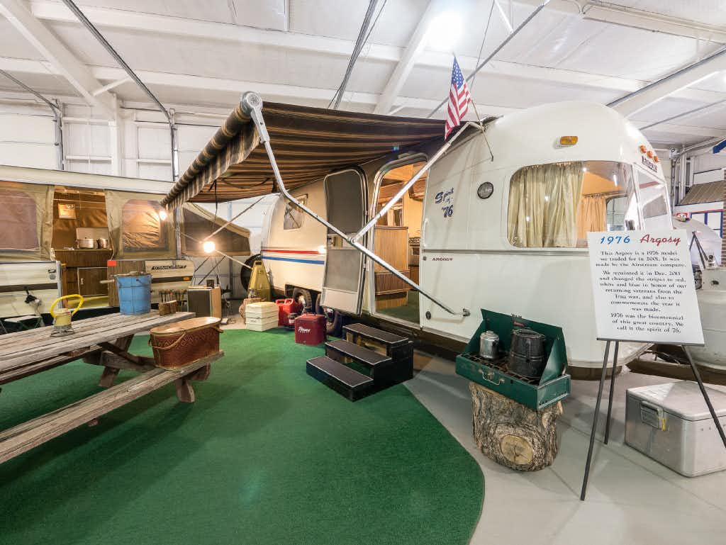 Owner of retro-cool Texas RV museum wants people to 'remember the road'