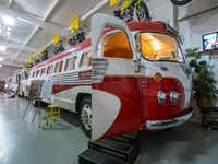 The 1948 Flxible passenger bus is the most popular attraction at the RV museum. (<p>Dan Leeth/Special Contributor<br></p><p></p>)