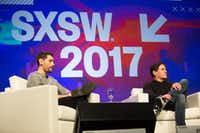 Mark Cuban appears on a panel about technology and disruption in government during the 2017 SXSW Conference at the Austin Convention Center in Austin, Texas on March 12, 2017.(Julia Robinson/Special Contributor)(Special Contributor)