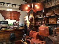 Will Leather Goods began in Oregon and now has stores across the USA, including this popular one in Portland. ( (Janis Turk))