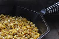 You can coax out-of-season corn to greatness in cast iron. ((Coryanne Ettiene))