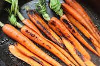 Carrots are best made in a skillet.((Coryanne Ettiene))