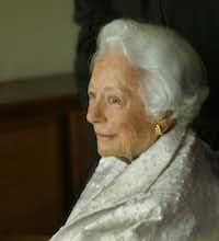 Margaret McDermott. (Nan Coulter/Special Contributor)