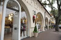 A file photo of Highland Park Village shopping center in Dallas, Texas, Sunday, November 27, 2016. (Allison Slomowitz/ Special Contributor)