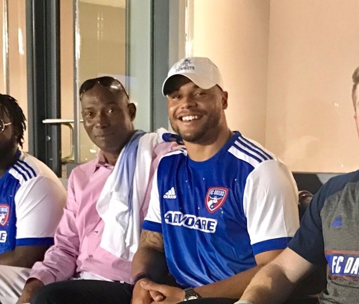 Dak Prescott back in town with his father at FC Dallas home opener ...