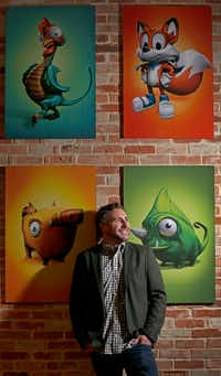 Paul Bettner, CEO and Founder of Playful Corp., poses for a photograph at the company's office  in McKinney.(Jae S. Lee/Staff Photographer)