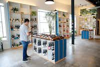 "<p><span style=""font-size: 1em; background-color: transparent;"">Bar and Garden, a new shop on Ross Avenue, specializes in natural wines.</span></p>(Tom Fox/Staff Photographer)"