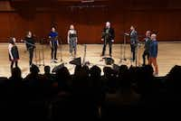 """Roomful of Teeth"" performed at Caruth Auditorium in Dallas on Monday. (<p>(Lawrence Jenkins/Special Contributor)<br></p><p></p>)"