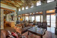 <p>Wildcatter Ranch has a 15,436-square-foot main house.</p>(Briggs Freeman)