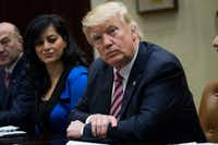 <p>President Donald Trump's recent budget blueprint seekscuts in transit funding that's vital to Dallas Area Rapid Transit and others.(Doug Mills/The New York Times)</p>