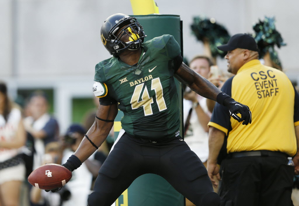 US Marshals arrest second former Baylor football player on sexual assault warrant