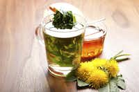 Try dandelion greens steeped for a quick tea.((iStock))