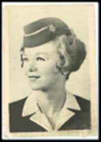 Carole DiSalvo started as a flight attendant for American Airlines  in 1958.