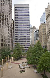 New owners of the 60-year-old Adolphus Tower on Main Street in downtown Dallas plan to renovate the building.(FAQ Capital)