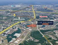 Three tracts of land have been for sale on Northwest Highway.(HFF/CSE)