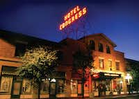 The Hotel Congress is a trendy spot in downtown Tucson with a fine patio and a retro-style lobby.(Tourism Tucson)