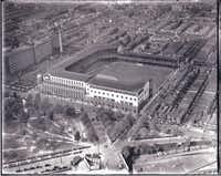 Shibe Park in Philadelphia was the home of the Athletics and eventually the Phillies.(Hagley Digital Archives)