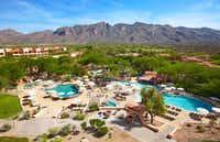 The Westin La Paloma is a posh resort with a wonderful setting north of downtown Tucson. (Jim Byers/Special Contributor)