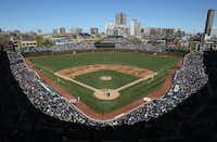 Wrigley Field — one of the greatest places to catch a game since 1914. The Cubs began play there in 1916.(Getty Images)