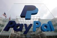 "Paypal canceled plans to build a facility in North Carolina because of the ""bathroom bill."" (AP Photo/Jeff Chiu, File)"