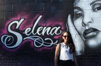 "<p><span style=""font-size: 1em; background-color: transparent;"">Reporter Cassandra Jaramillo was born in Mexico but raised in the United States. Selena became a role model as a bicultural icon.</span></p>(Dom DiFurio/ The Dallas Morning News)"