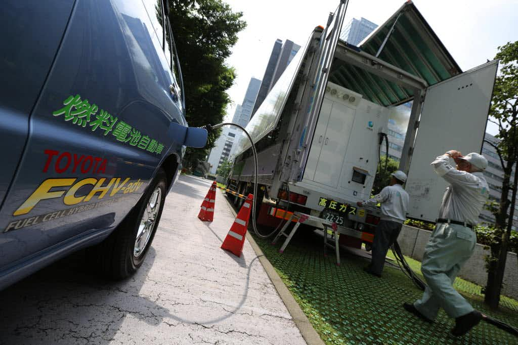 Fuel cell cars won't solve global warming