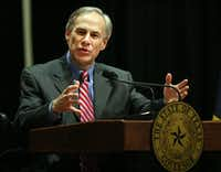 <p>Texas Gov. Greg Abbott (AP Photo/The Monitor, Joel Martinez)</p>