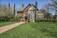 A stately Tudor featured on the Swiss Avenue Mother's Day Home Tour harkens to the early days of Dallas  premier neighborhood.(<p>(Shoot2Sell)<br></p><p></p>)