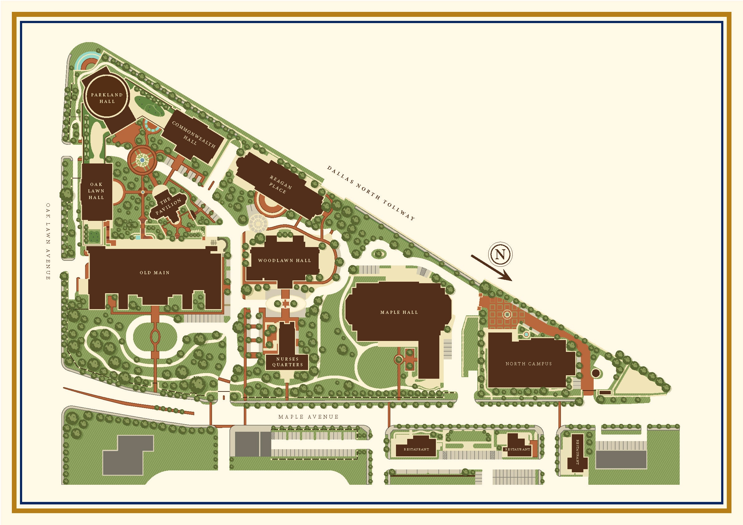 Parkland Campus Map.First Look Next Phase Of Old Parkland Campus Will Add An Office