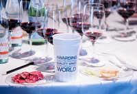Judging at the TexSom International Wine Awards took place in February at the Irving Convention Center.((Courtney Perry))