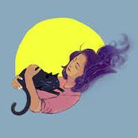 <p>'Muslim Woman Napping'&nbsp;by artist Fahmida Azim&nbsp;</p>