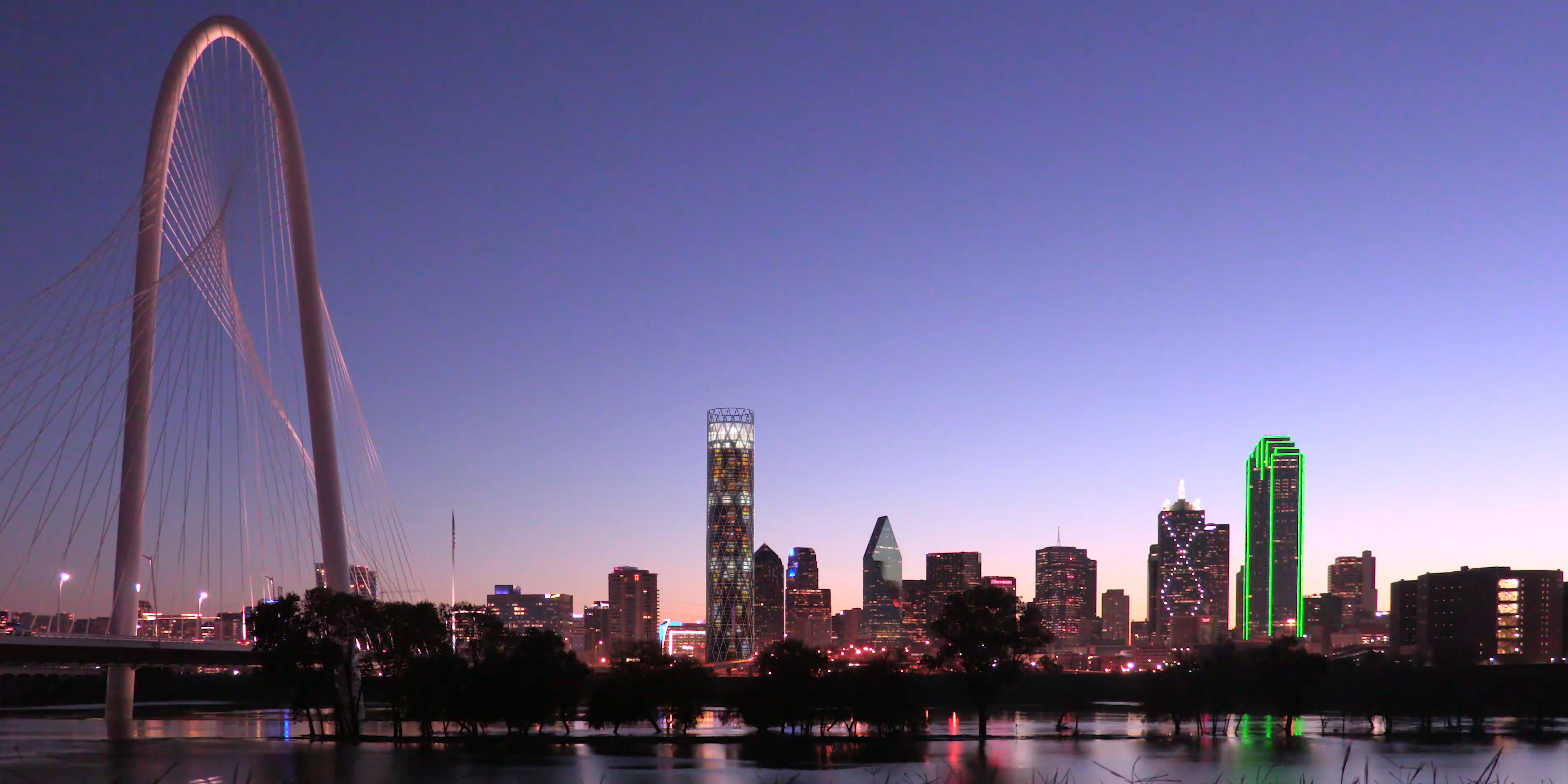 new high rise would round out dallas skyline real estate dallas