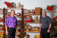 (From left) Chuck and Bobby Goodman are co-owners of Goodies from Goodman.(G.J. McCarthy/Staff Photographer)