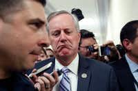 Rep. Mark Meadows, R-N.C., is chairman of the House Freedom Caucus. (Alex Brandon/The Associated Press)